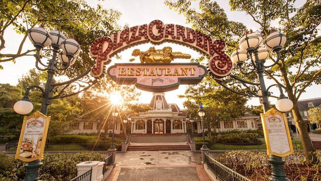 Plaza Gardens Restaurant Paris Disneyland Restaurants